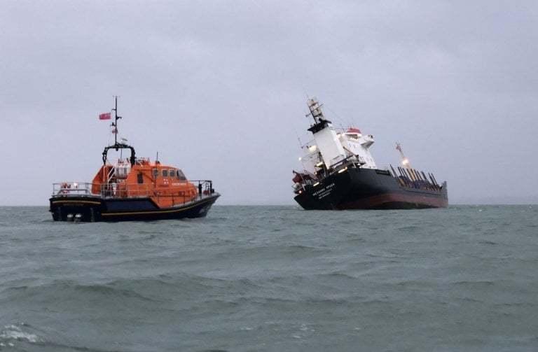 haberler, gundem - Mv Mekhanik Yartsev 3 - Rus Kuruyük Gemisi Tehlikeli Şekilde Yan Yattı
