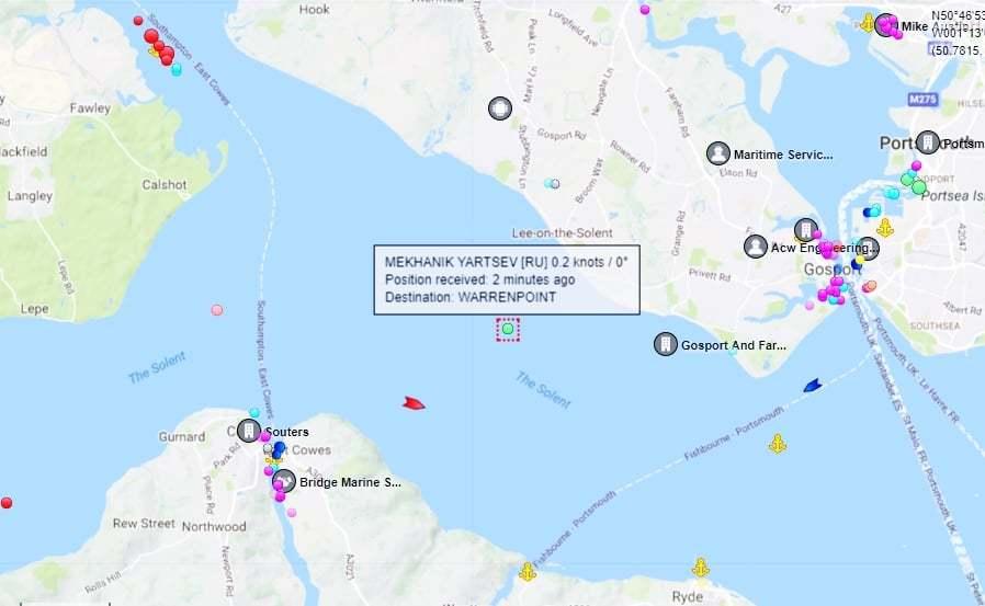 haberler, gundem - Mv Mekhanik Yartsev 6 - Rus Kuruyük Gemisi Tehlikeli Şekilde Yan Yattı