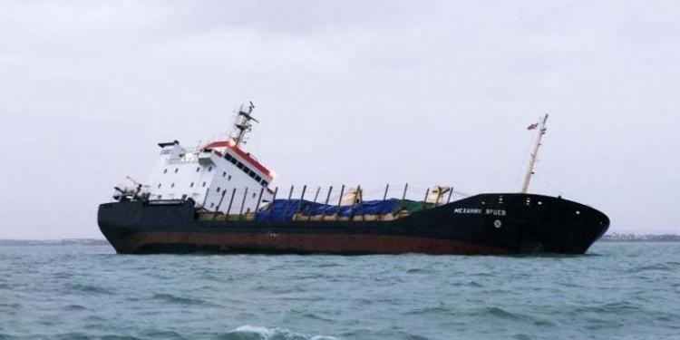 haberler, gundem - Southampton ship accident 750x375 - Rus Kuruyük Gemisi Tehlikeli Şekilde Yan Yattı