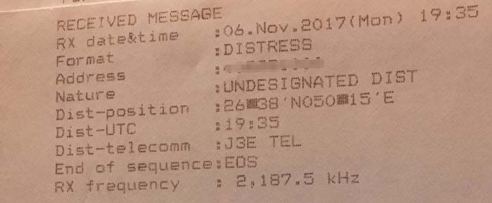 goc-gmdss - distress message1 - Acil Durum Çağrısı Alındığında Yapılması Gerekenler