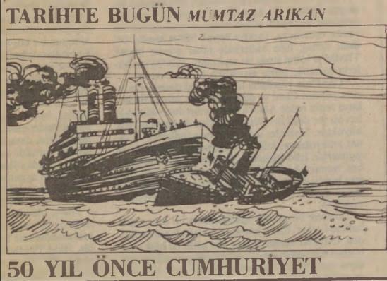 ilginc - Bozkurt Lotus Davası Gazete 1 - Türk Deniz Hukuku Zaferi Bozkurt - Lotus Davası