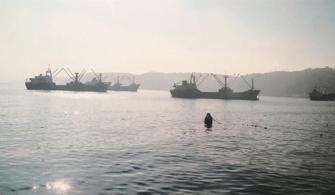 Kum Hırsızlığı Yapan Gemilere Suçüstü Yapıldı
