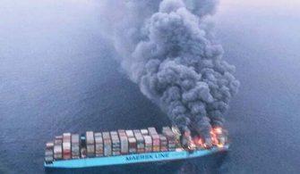 Maersk Honam fire 3