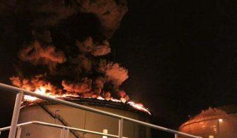 Singapur Rafineri Yangını