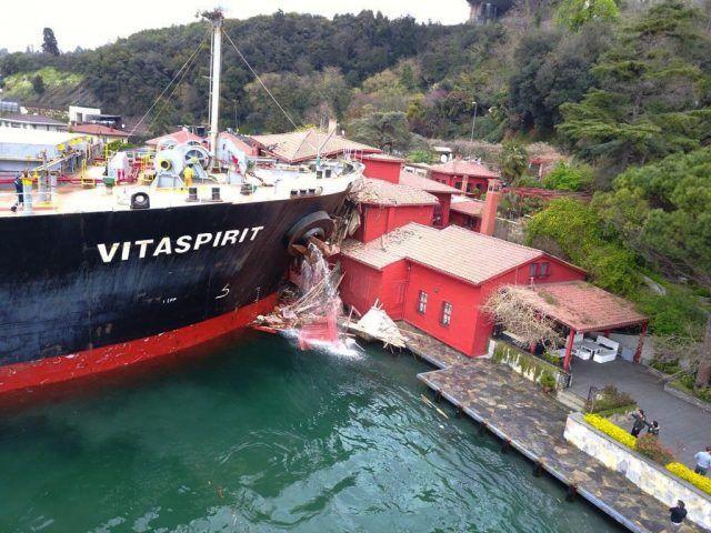 haberler, gundem - Vitaspirit - Yalıya Çarpan Geminin Kaptanı İfade Verdi