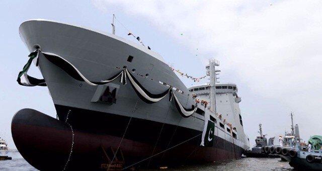 sektorel, haberler - Pakistan Denizde İkmal Gemisi PNFT 1 - Karaçi'de STM tarafından Üretilen Denizde İkmal Gemisi Teslim Edildi