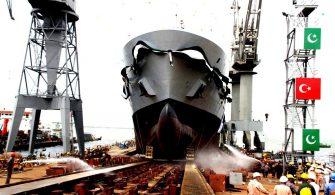Karaçi'de STM tarafından Üretilen Denizde İkmal Gemisi Teslim Edildi