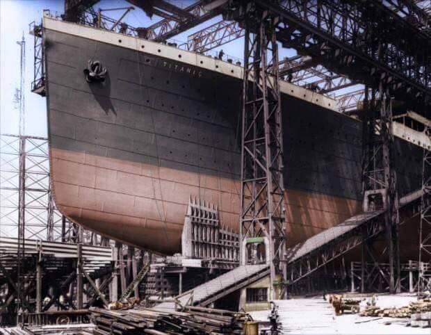 haberler, gundem - Titanic 1 11 - Titanic Yeniden İnşa Ediliyor, 2022'de Denizlerde Yol Alacak.