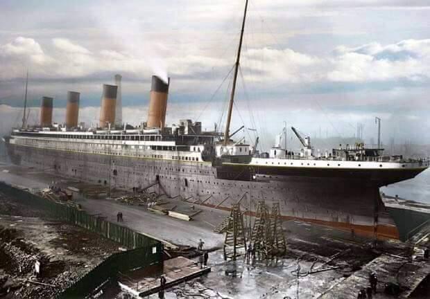haberler, gundem - Titanic 1 12 - Titanic Yeniden İnşa Ediliyor, 2022'de Denizlerde Yol Alacak.
