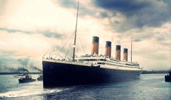 Titanik ilk Sefer Renkli