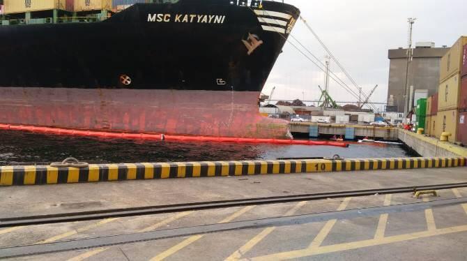 haberler - 1 4 - MSC Gemisi Yakıt Sızıntısına Sebep Oldu