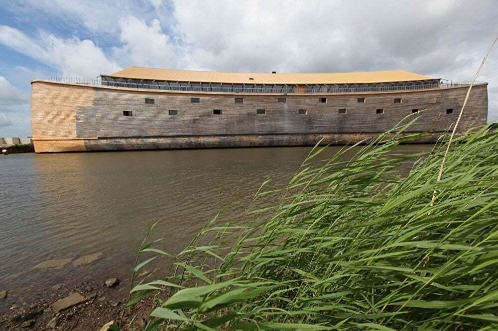 ilginc - Nuhun Gemisini Yeniden Insaa Etti 1 - Hollandalı Marangoz Nuh'un Gemisini Yeniden İnşa Etti