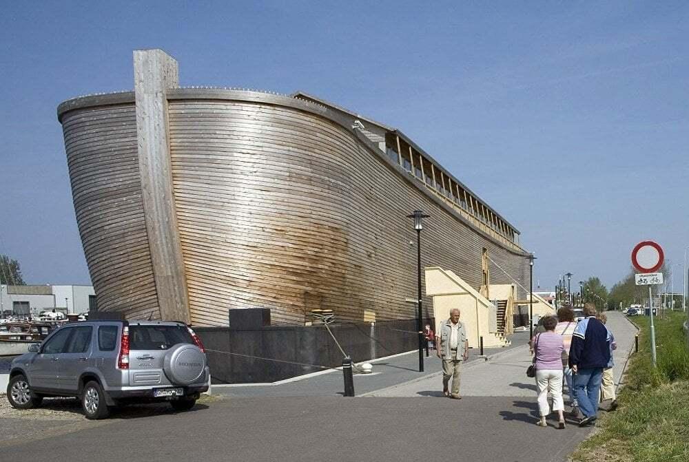 ilginc - Nuhun Gemisini Yeniden Insaa Etti 5 - Hollandalı Marangoz Nuh'un Gemisini Yeniden İnşa Etti