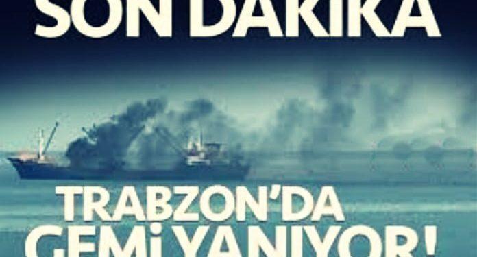 Trabzon'da Gemi Yangınının Tatbikat Olduğu Anlaşıldı