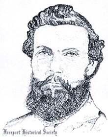 ilginc - Captain josiah mitchell sketch - Kaptan Josiah A. Mitchell ve Hornet Gemisinde Çıkan Yangın