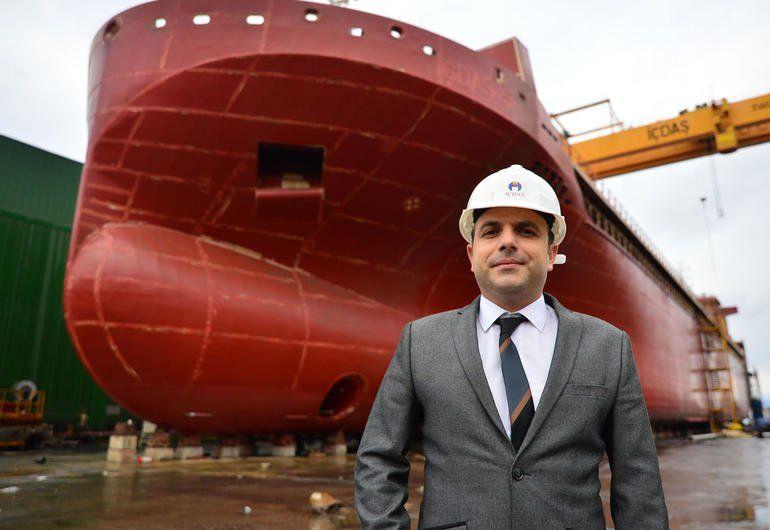 sektorel - İçdaş - Dünya Devlerine Gemi İnşa Ediyorlar