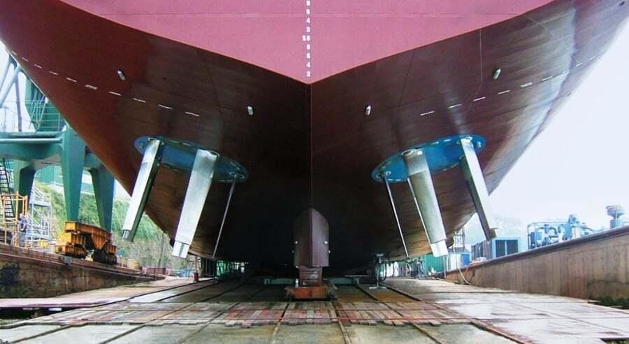 gemi-insaa-ve-stabilite - Voith Propeller System Voith Pervane Sistemi - Gemi Pervane Çeşitleri