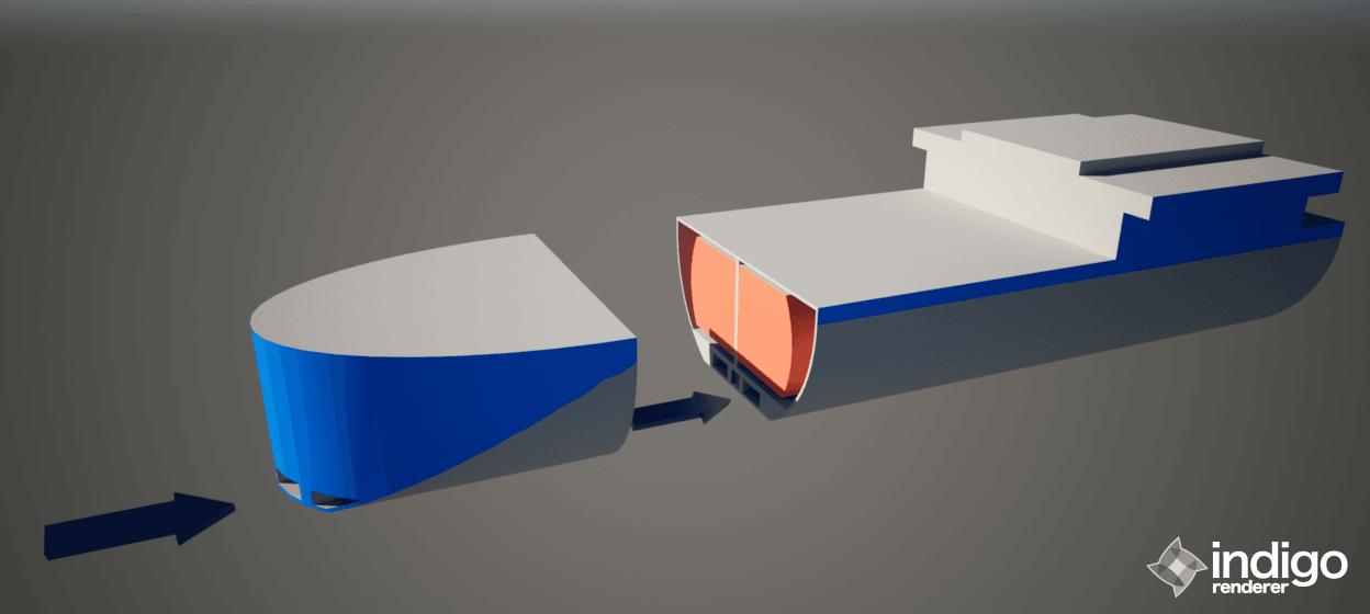 gemi-insaa-ve-stabilite - balastsız gemi 1 - Balastsız Gemi Modeli
