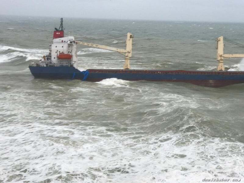 haberler, gundem - gemi karaya oturdu 1 - İstanbul Açıklarında Gemi Karaya Oturdu
