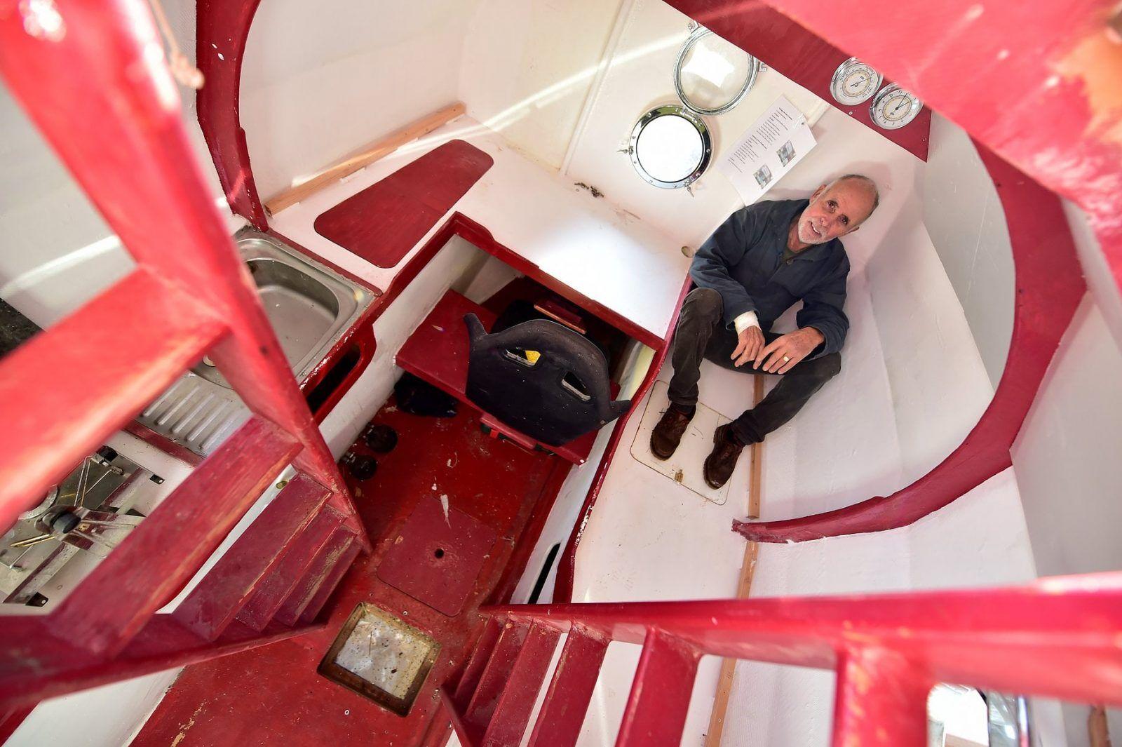 ilginc - maceracı - Varille Atlantiği Geçmeye Çalışan Maceracı