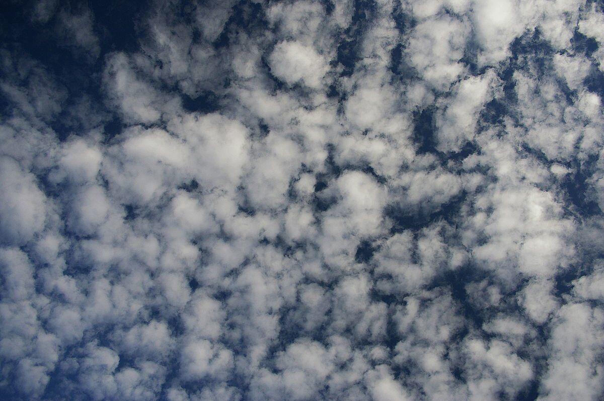 meteoroloji - Altocumulus bulutu - Bulut Çeşitleri ve Yükseklikleri