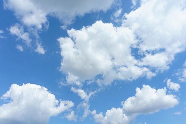meteoroloji - Cumulus bulutu - Bulut Çeşitleri ve Yükseklikleri