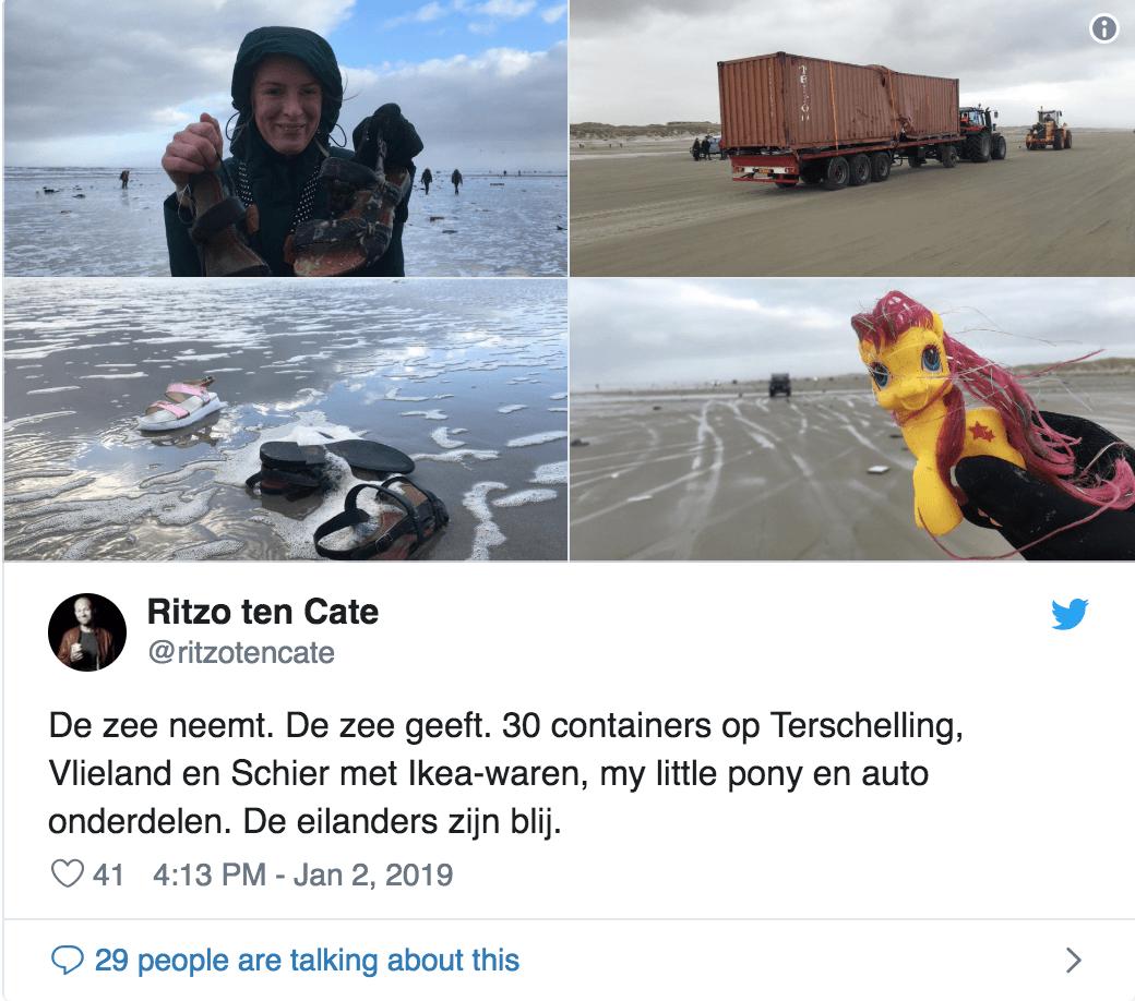 haberler - Ekran Resmi 2019 01 04 22.27.29 - Sahile Vuran Konteynerler