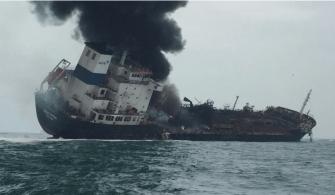 hongkong da gemi yangını