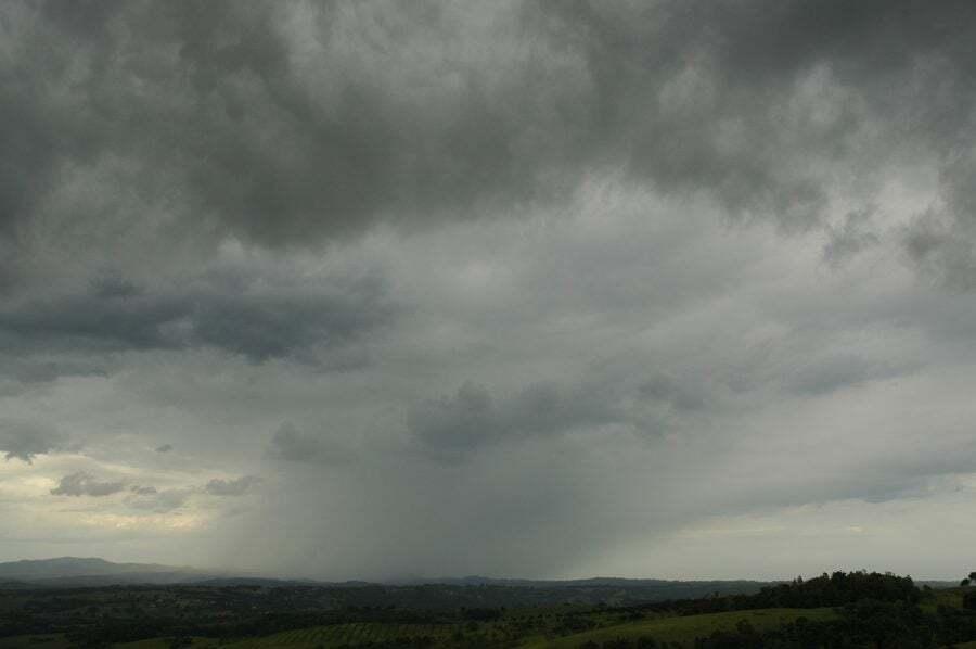 meteoroloji - Nimbostratus bulutu 1 - Bulut Çeşitleri ve Yükseklikleri