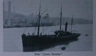 SS John Bowes on Port