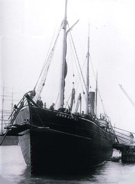 ilginc - SS John Bowes - Balast Tanklarına Sahip İlk Gemi S/S John Bowes