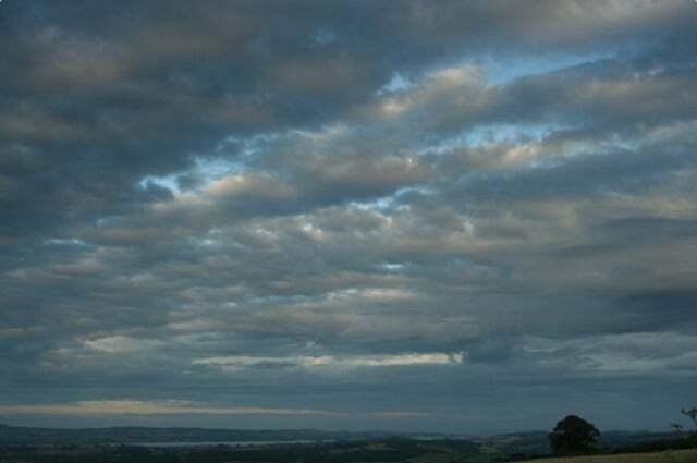 meteoroloji - Stratocumulus bulutu - Bulut Çeşitleri ve Yükseklikleri