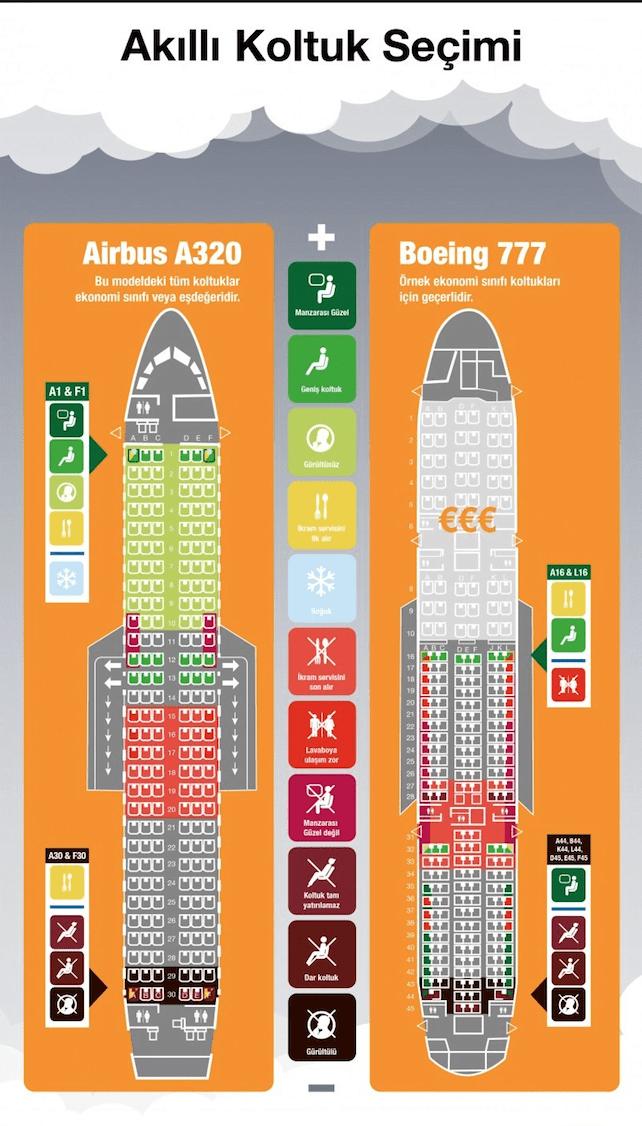 deniz-kultur - Uçak koltuğu seçimi 1 - Gemiadamları İçin En Rahat Uçak Koltuğu Seçimi