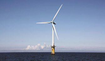 açık deniz rüzgar türbini