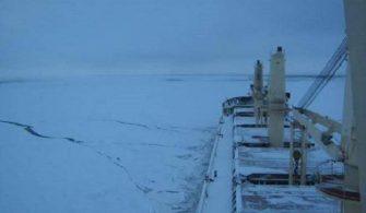 buz ve aşırı soğuk koşullarda seyir