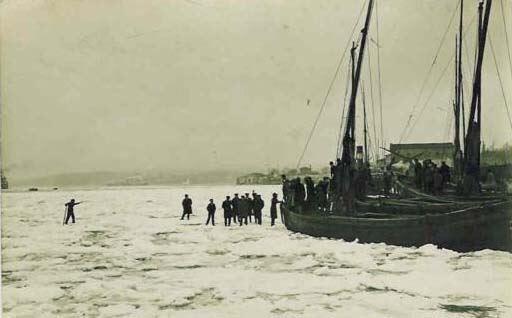 ilginc - denizlerde buzullar - İstanbul Boğazı Nasıl Buz Tuttu?