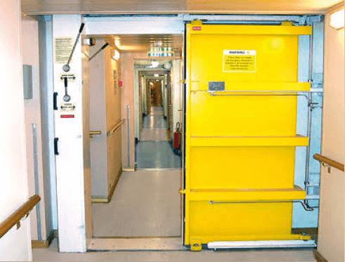 gemi-insaa-ve-stabilite - su geçirmez kapı - Su Geçirmez Kapı - Hava Geçirmez Kapı