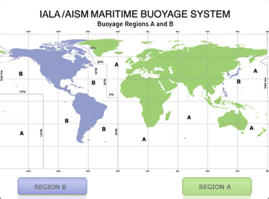 seyir - Deniz Şamandıraları - IALA Şamandıra Sistemleri