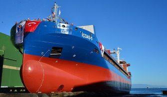 haberler - İçdaş denizcilik 335x195 - İçdaş Yeni Gemisini Suya İndirdi