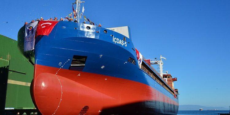haberler - İçdaş denizcilik 750x375 - İçdaş Yeni Gemisini Suya İndirdi