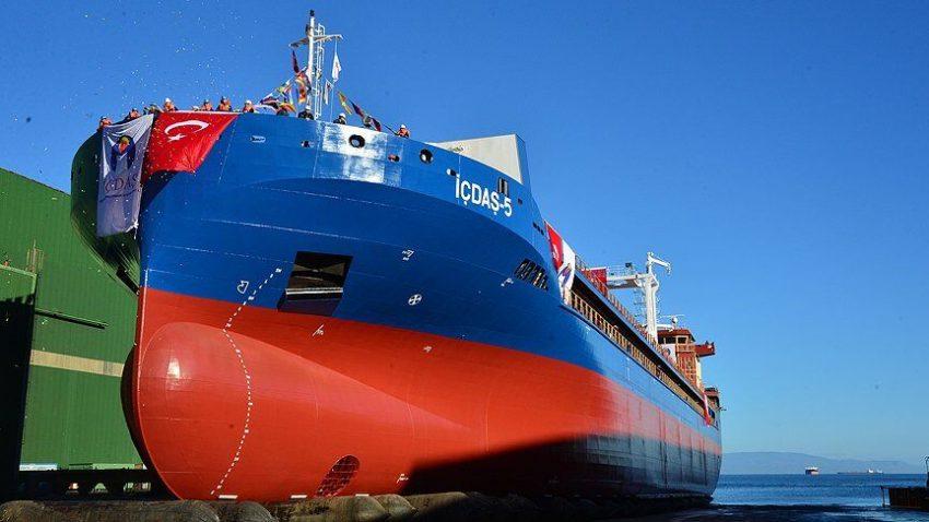haberler - İçdaş denizcilik 850x478 - İçdaş Yeni Gemisini Suya İndirdi