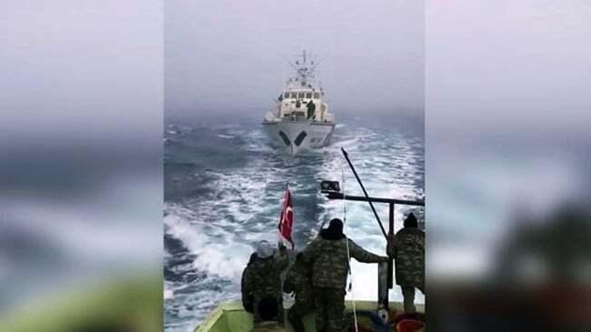 Romanya Balıkçılara Ateş Açtı