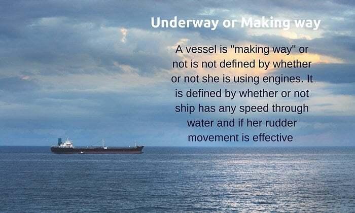 seyir - Su üstünde yol alan gemi  - Denizcilikte Kafa Karıştıran Terimler