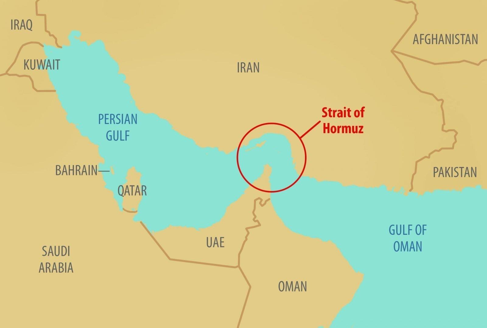 deniz-kultur - hürmüz boğazı - Dünyanın Önemli Boğaz ve Kanalları