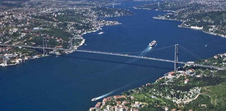 deniz-kultur - istanbul boğazı - Dünyanın Önemli Boğaz ve Kanalları
