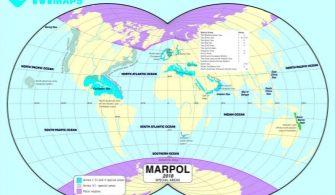 mevzuatlar - marpol özel alanlar 335x195 - Marpol EK-1 Özel Alanlar