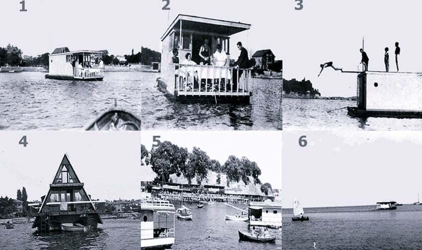 ilginc, deniz-kultur - stanbul Yüzen Evler - Geçmişte İstanbul'da Yüzen Evler Vardı
