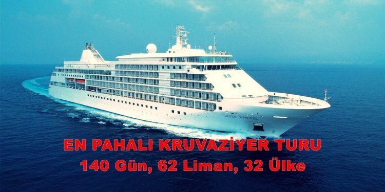 En Pahalı Kruvaziyer Turu 140Gün 62Liman 32Ülke