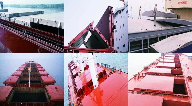 Gemi Ambar Kapakları ve Çeşitleri