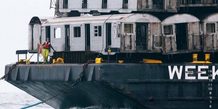 ilginc, haberler - Hurda vagon 750x375 - Hurda Metro Vagonları Balıklara Yuva Oldu